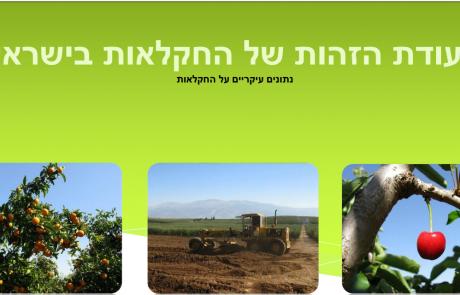 ת.ז של החקלאות בישראל