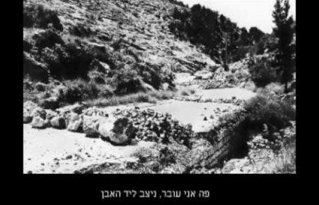 'באב אל וואד'- חיים גורי (קול וטקסט)